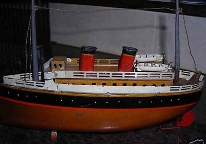 Bing 10/341/3 Blechdampfschiff