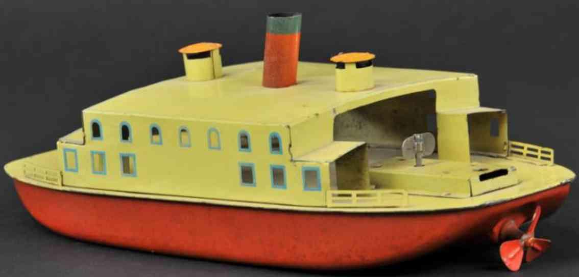 bing 10/358 blech spielzeug schiff faehre