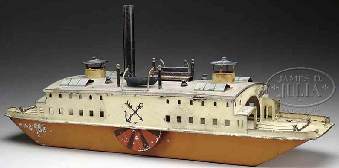 bing 10/39/2 blech spielzeug faehrschiff