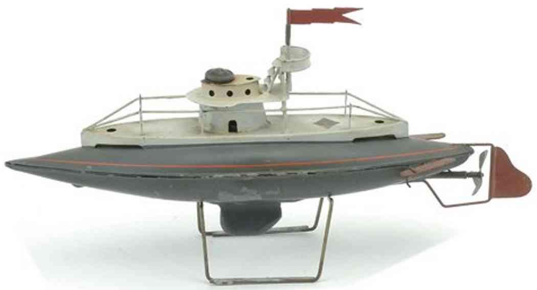 bing 1103 blech spielzeug u-boot uhrwerk