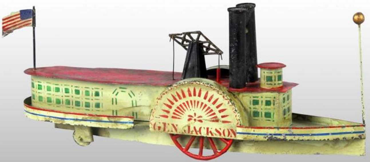 Brown George General Jackson Boot