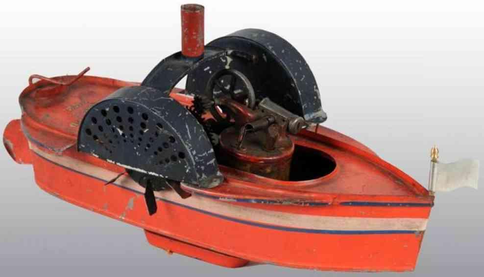 Buckmann Manufacturing Dampfschiff mit Seitenrädern
