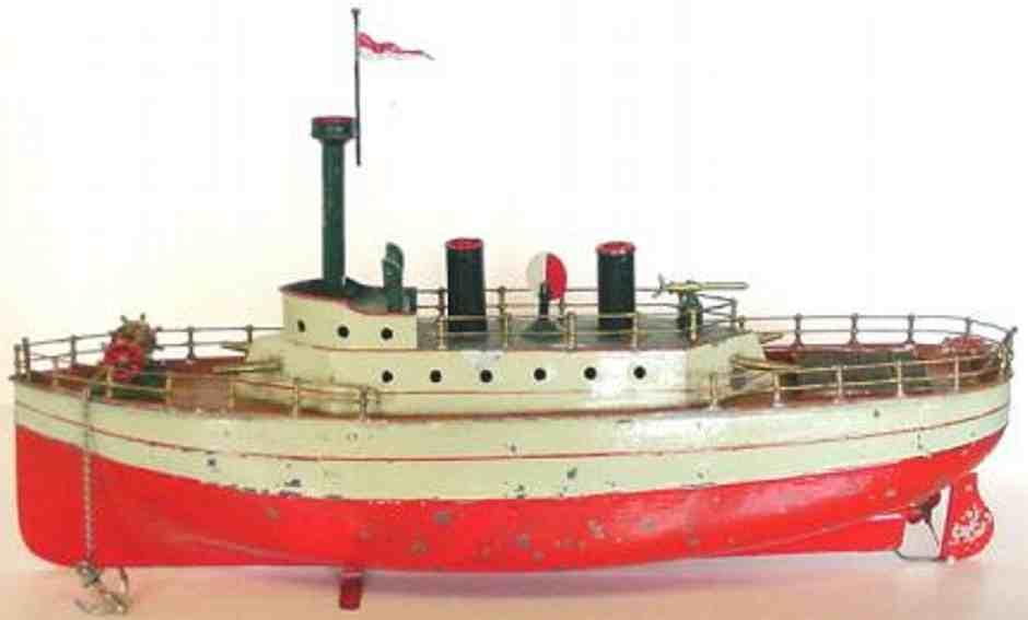 carette 721/5 tin toy warship