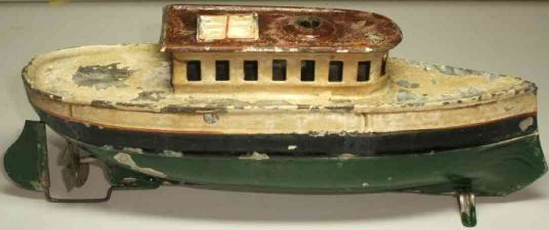 carette 725/20 tin toy ship pleasure steamer