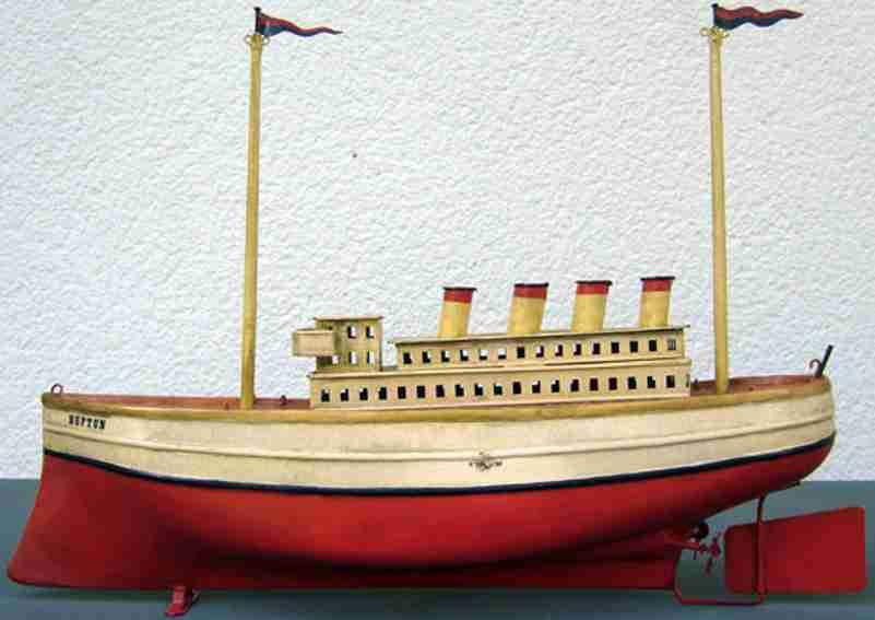 carette blech spielzeug schiff ozeandampfer