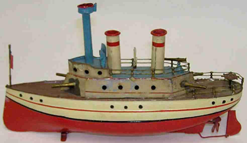 carette 721 blech spielzeug schiff schiff mit uhrwerk