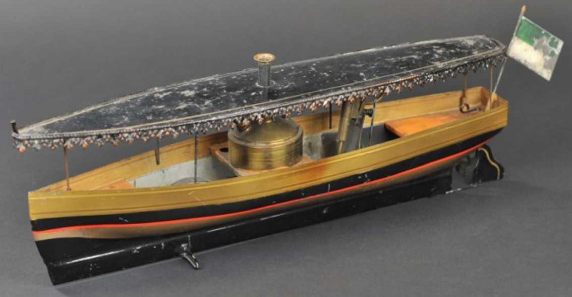 Carette Echtdampf Flussboot