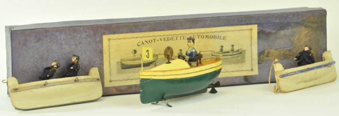 Carette  Schnellboot-Set