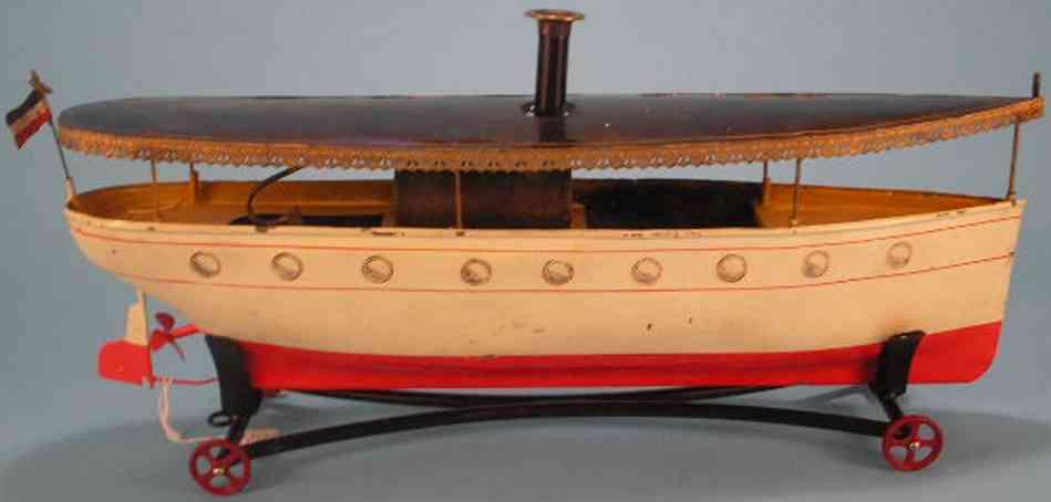 carette dampfflussboot