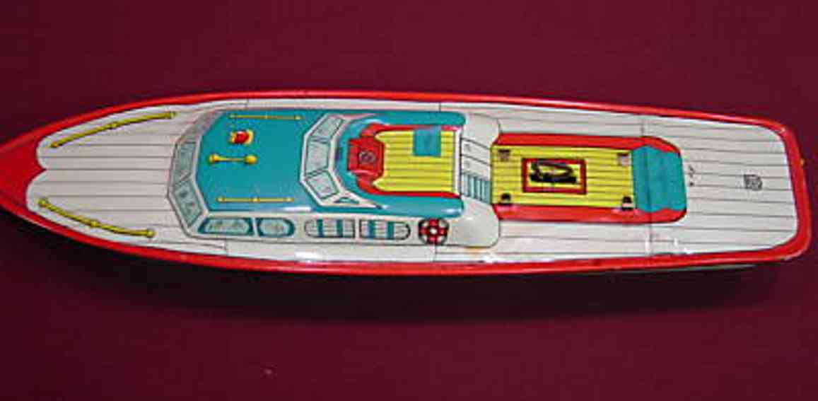 chein co 126 blech spielzeug schiff peggy jane boot