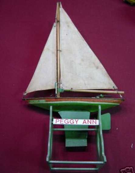 Chein 711 PEGGY ANN sailboat