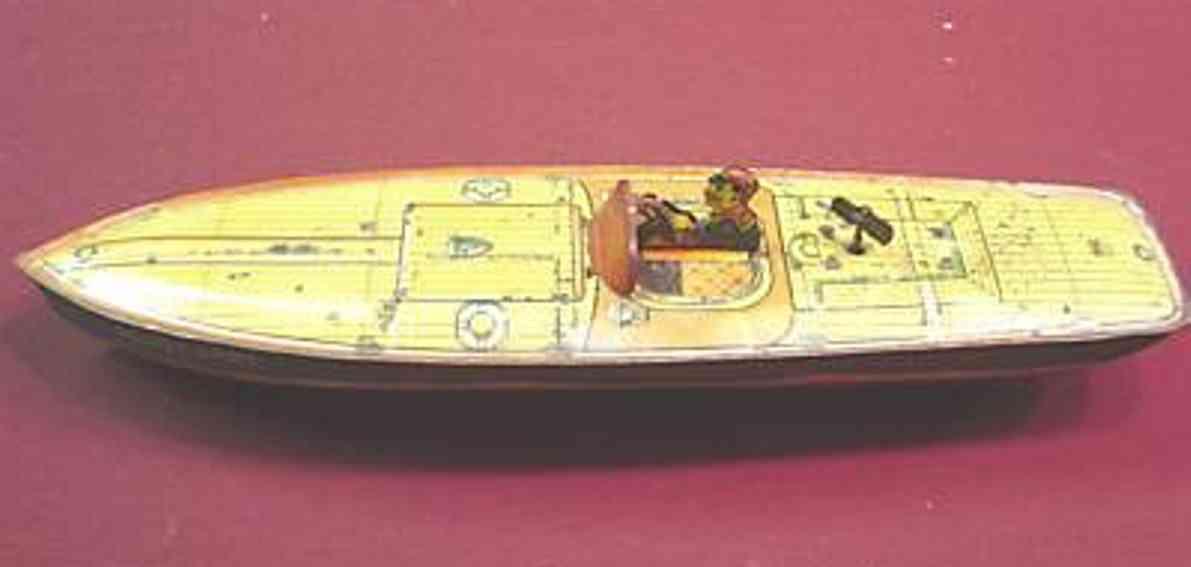 Chein Co. Schiffe Peggy Jane Motorboot