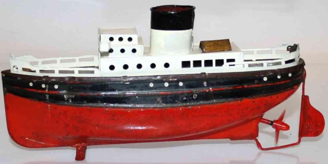 fleischmann 830/19 tin toy passenger steamer clockwork