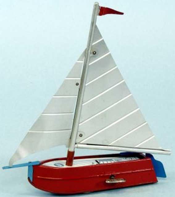 Gescha Segelboot als Bodenläufer