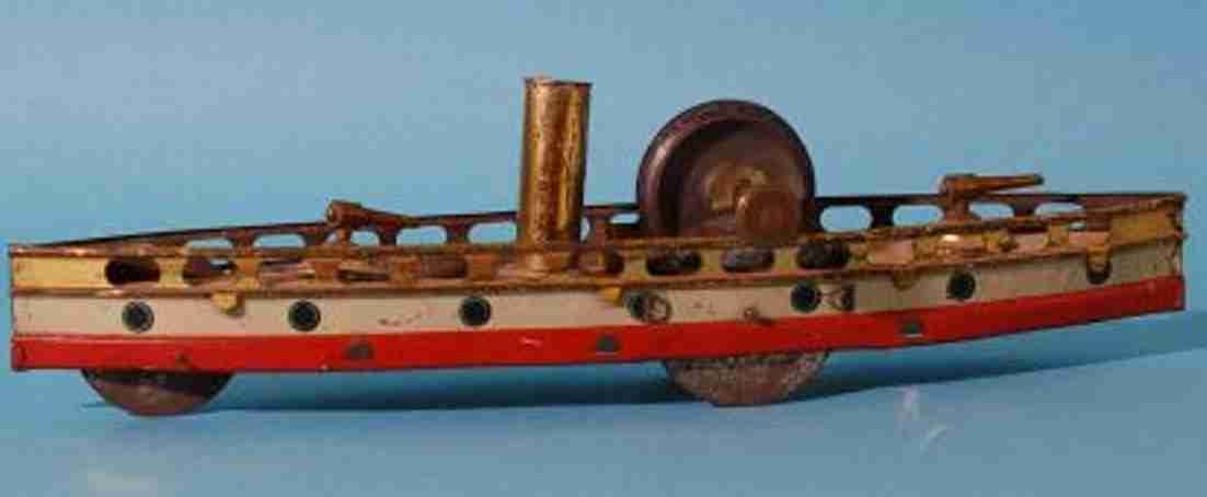 hess tin toy ship ground runner