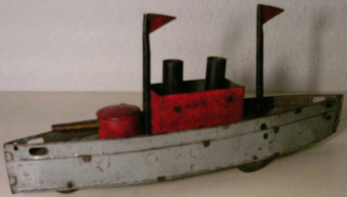 hess blech spielzeug kriegsschiff