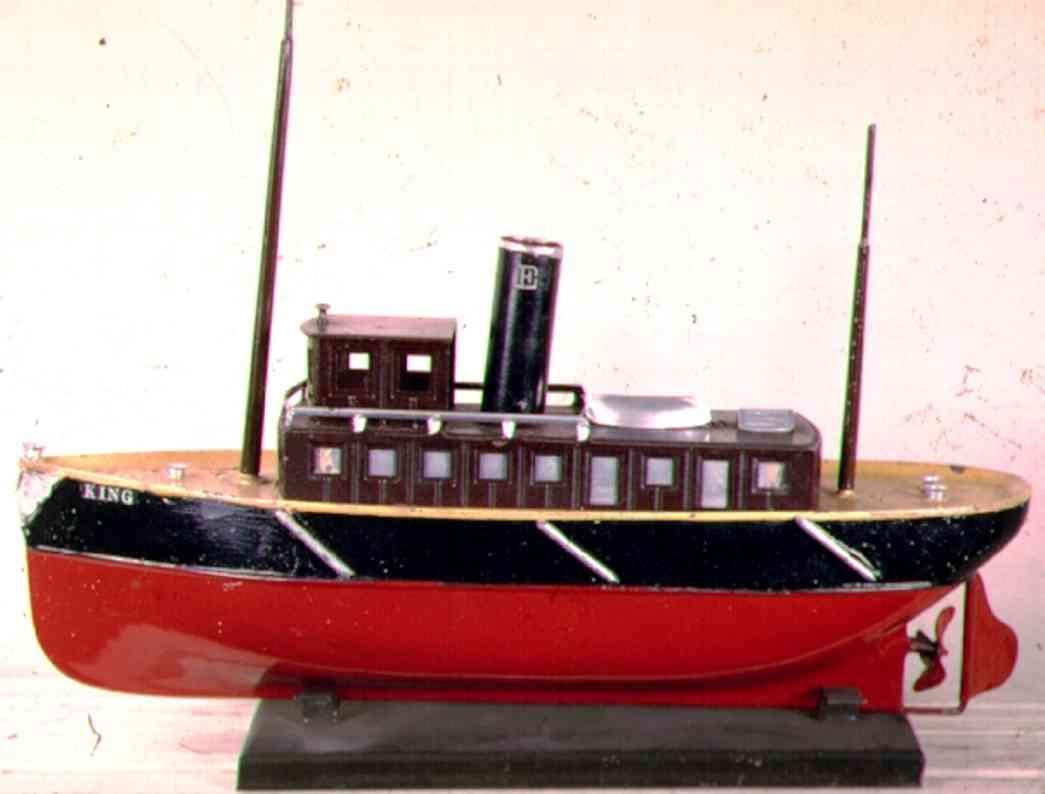 ives 2010 blech spielzeug schiff schlepper king