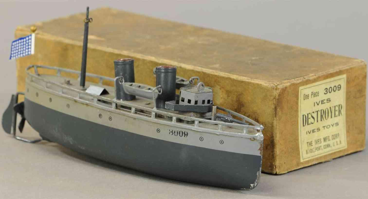 ives 3009 schiff kanonenboot destroyer zerstoerer