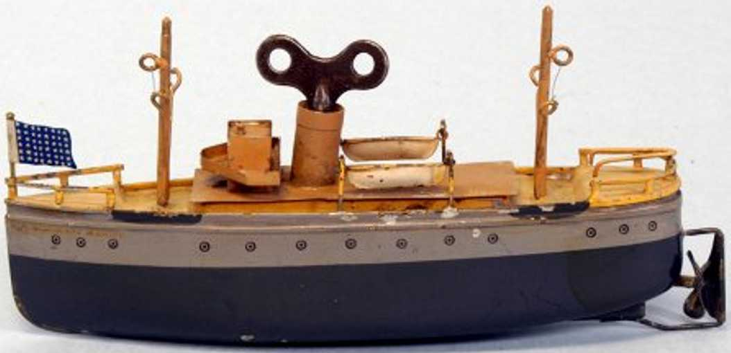 Ives Händlerboot der Marine