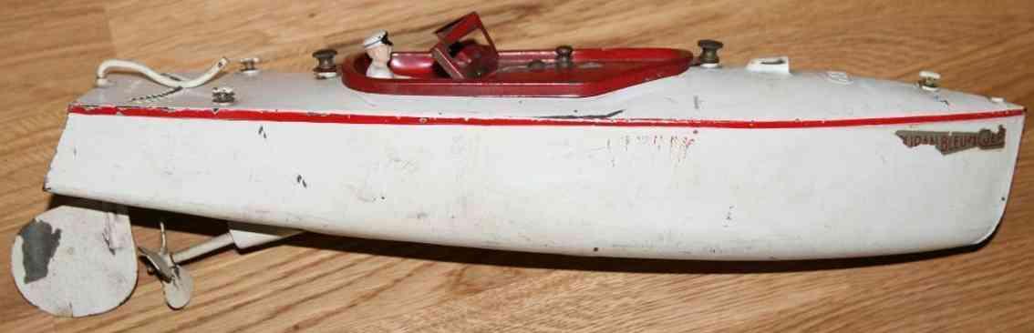jep spielzeug schiff blechboot