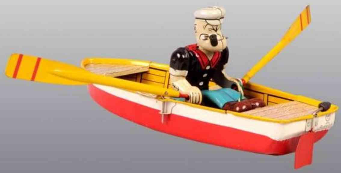 Linemar Schiffe Popey i, Ruderboo