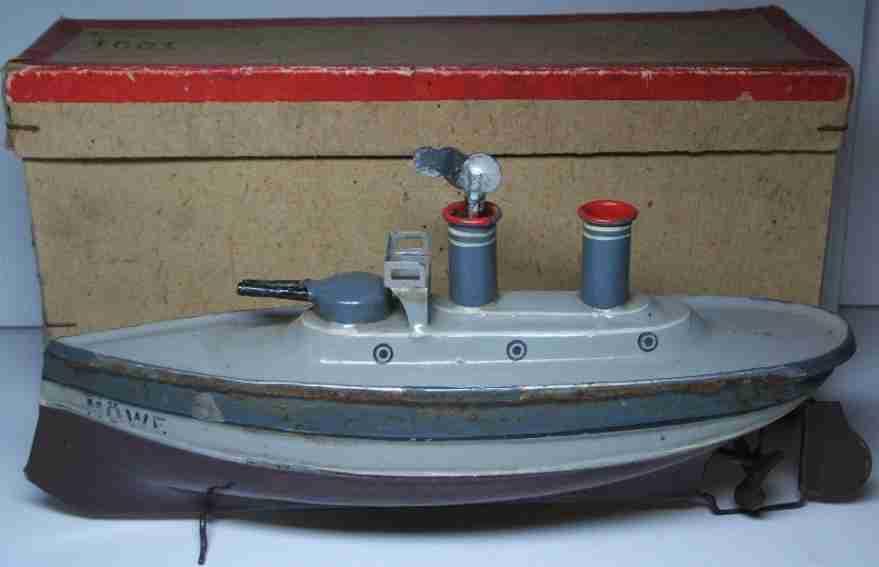 Märklin 1001 Zerstörer mit Uhrwerksantrieb