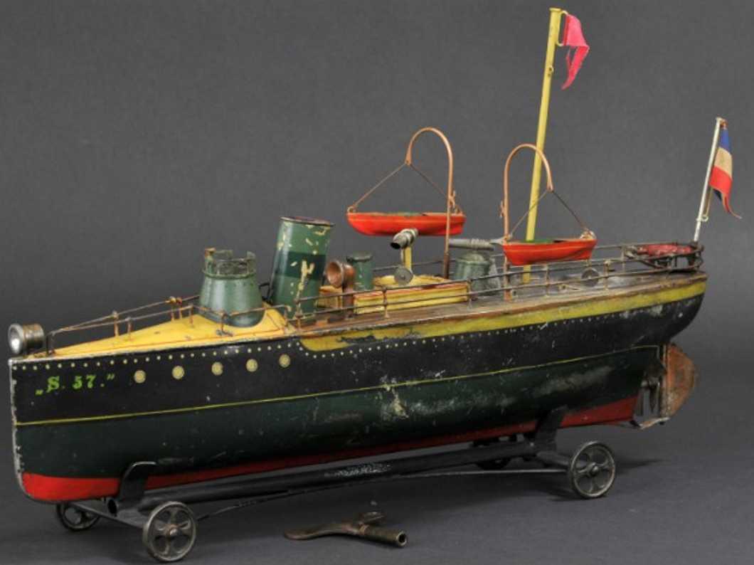 maerklin 1080/2 blech spielzeug schiff torpedoboot