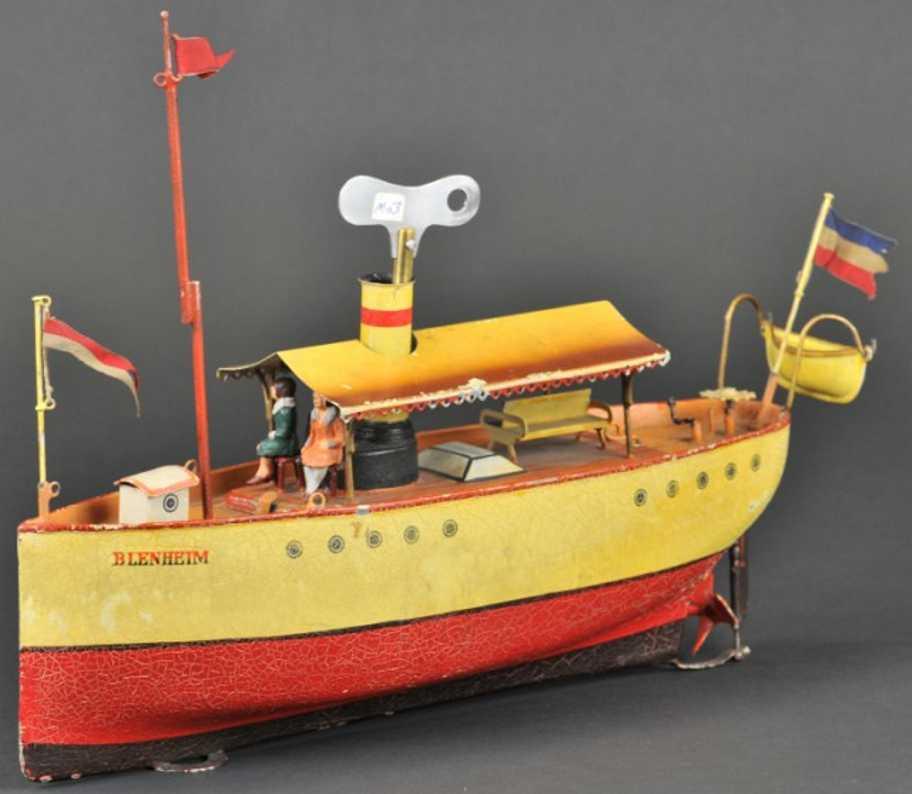 Märklin 50/40/34 Flussboot BLEHEIM