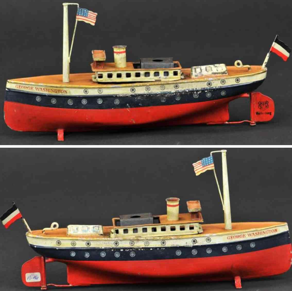 maerklin 5026 blech spielzeug schiff ozeandampfer george washington