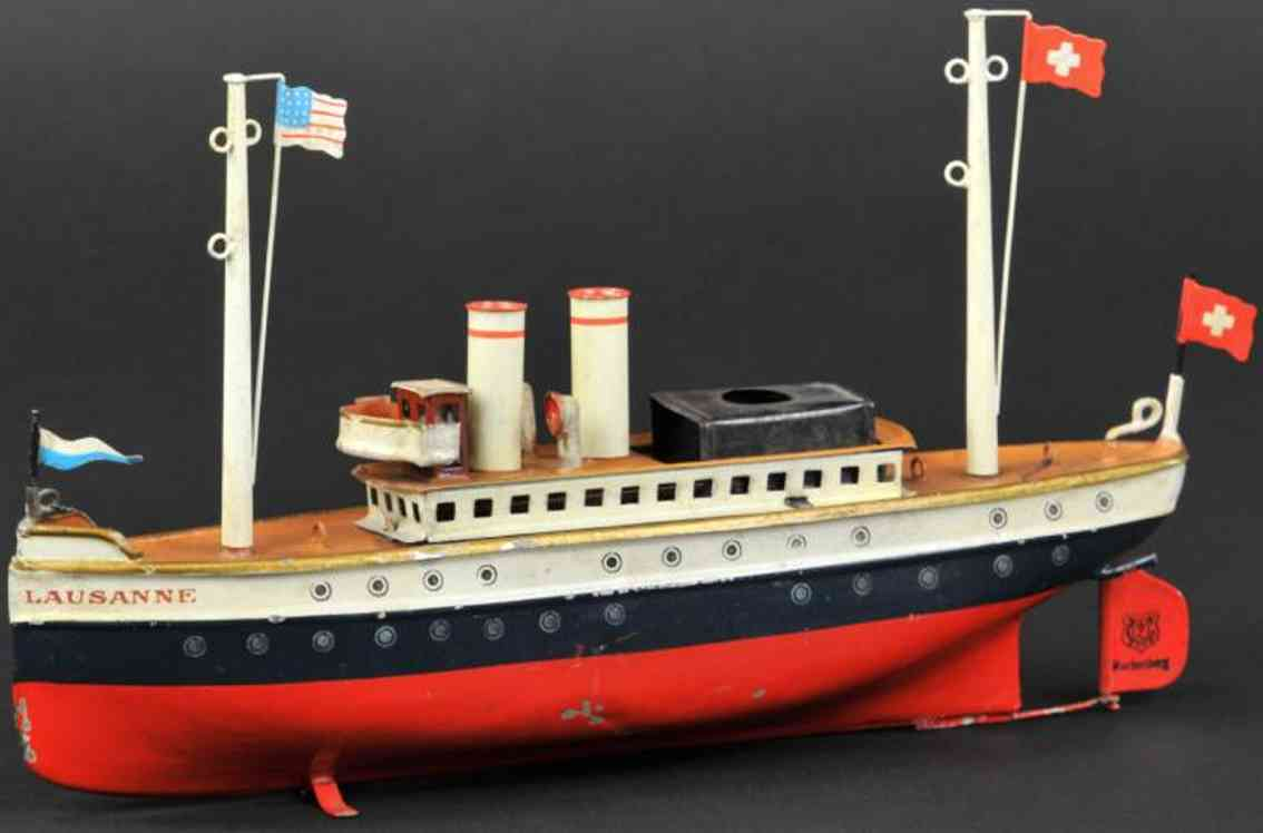 maerklin 5026/26 blech spielzeug schiff ozeandampfer lausanne