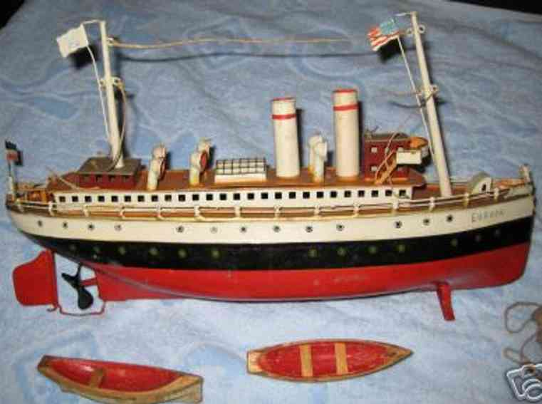 maerklin 5026/33 blech spielzeug schiff uhrwerk deutschland