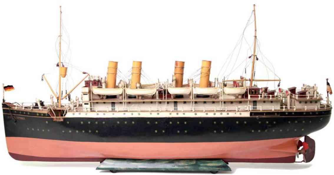 maerklin 5050/9 d blech schiff ozeandampfer george washington dampfbetrieb