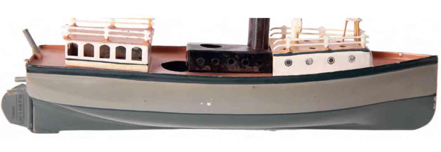 maerklin 5061/29 m blech spielzeug verkehrs-motorboot mit uhrwerkantrieb