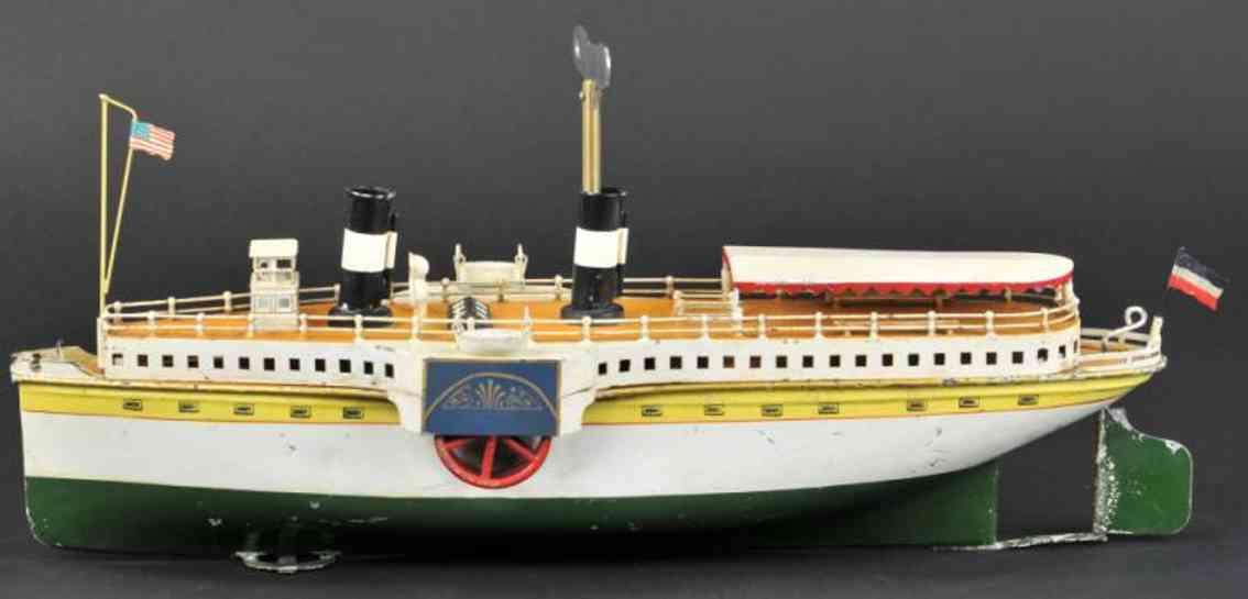 maerklin 5066/46 blech spielzeug schiff raddampfer