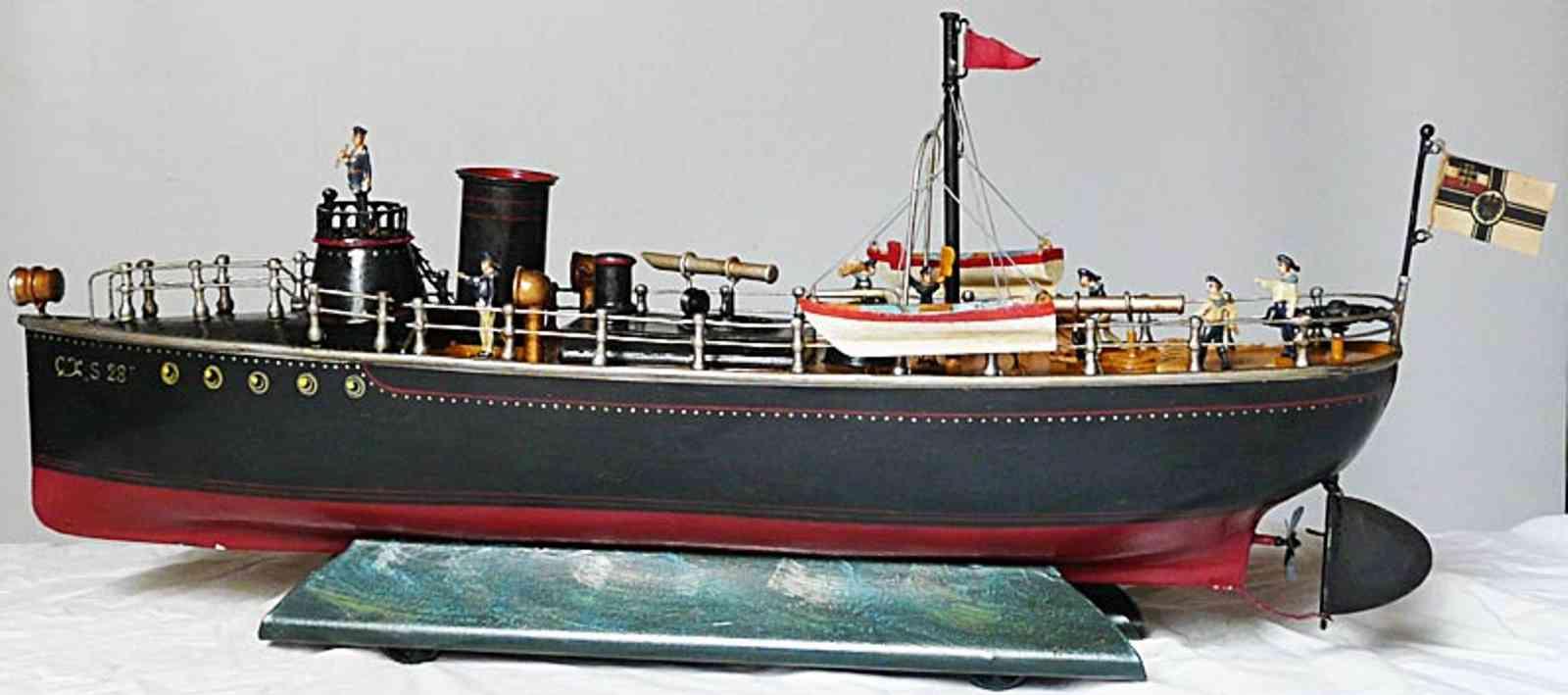 maerklin 5080/50 torpedo-divisionsboot