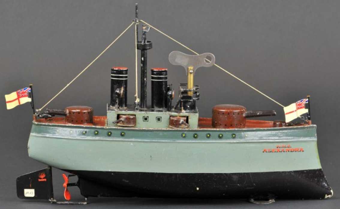 Märklin 5106/38  Kriegsschiff H.M.S. ALEXANDRA