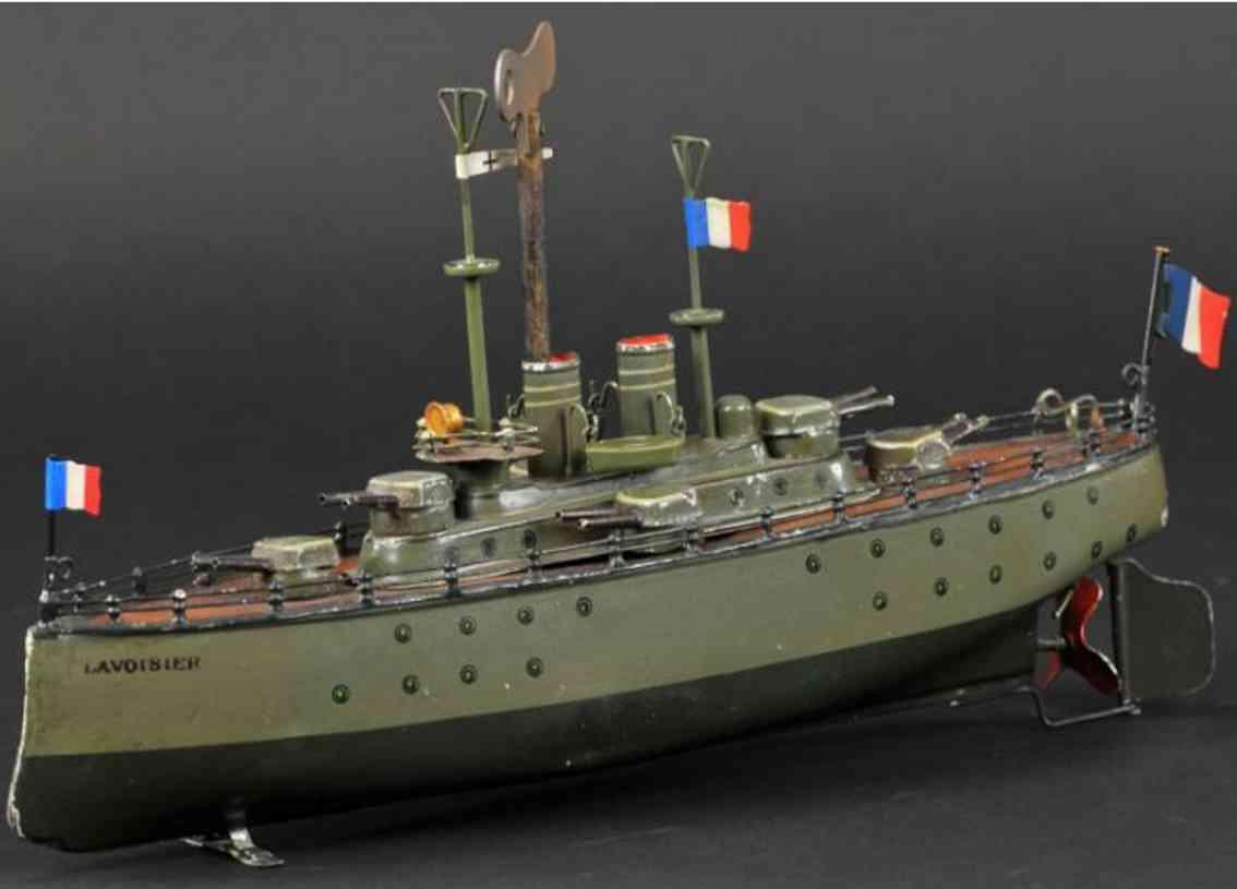 maerklin 5129/33 blech spielzeug kriegsschiff lavoisier uhrwerk