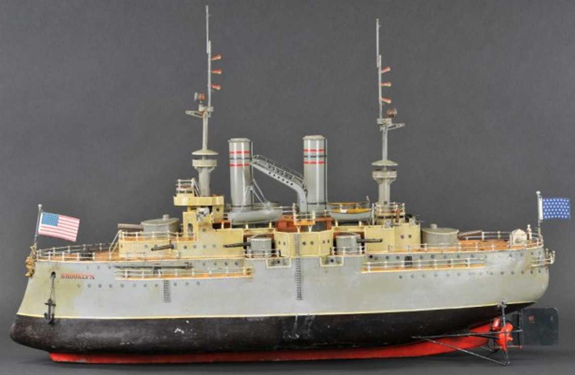 Märklin 5130 D/9 Kriegsschiff  BROOKLYN