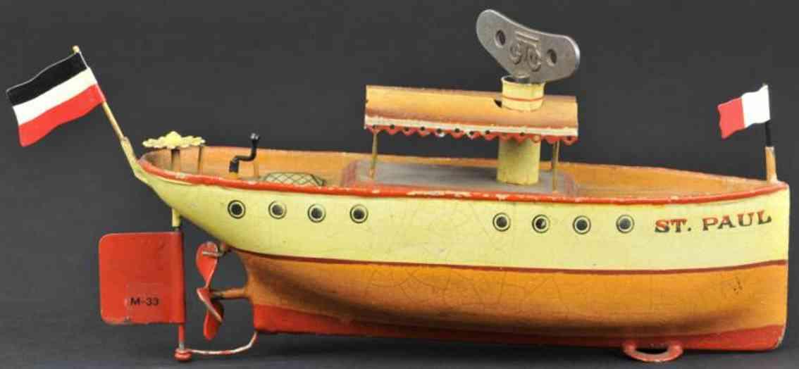 maerklin 5040/22 blech spielzeug flusschiff st. Paul