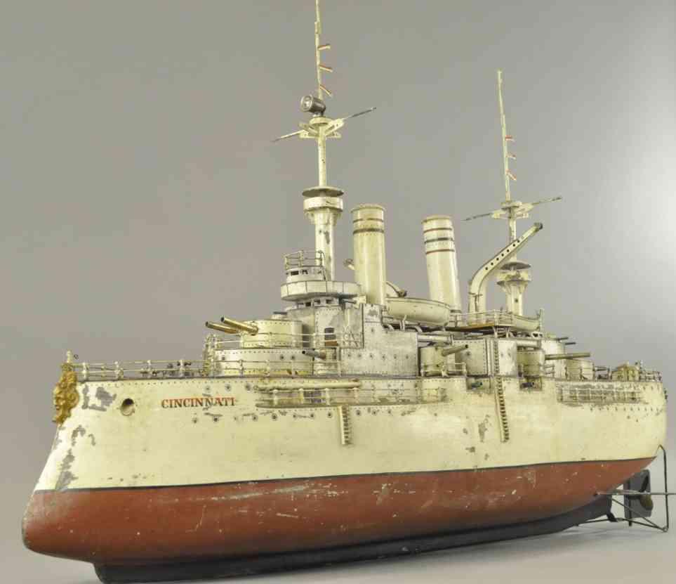 maerklin blech spielzeug kriegsschiff cincinnati der zweiten serie