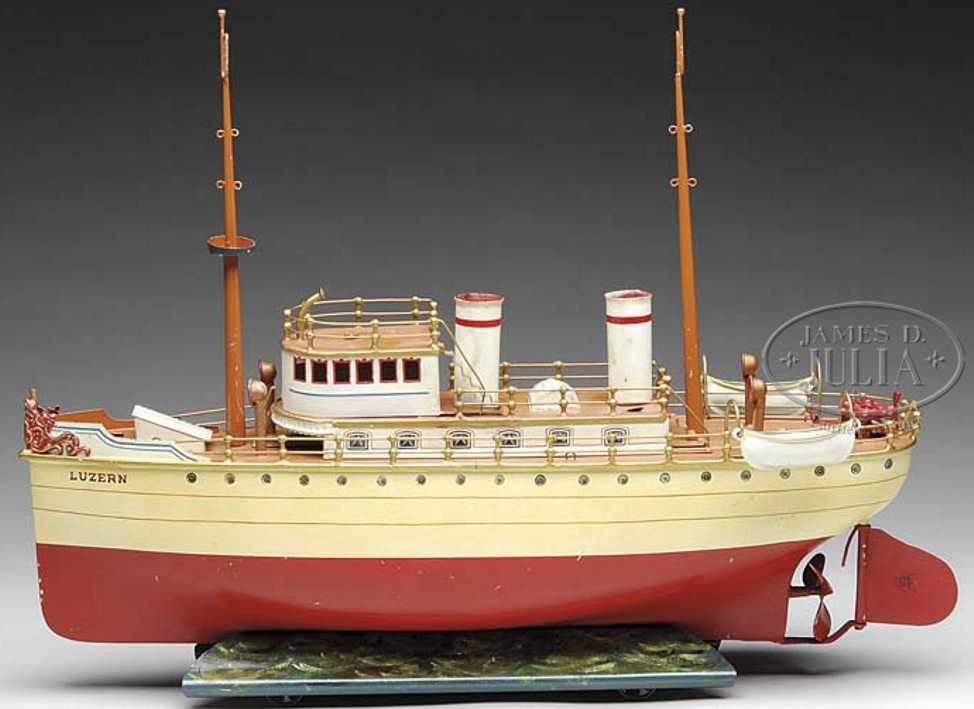 Märklin Schiff LUZERN Uhrwerkboot