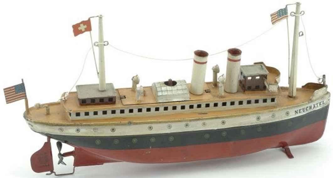 Märklin Neuchatel Dampfschiff