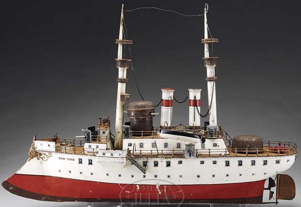 maerklin 1094 blech spielzeug schlachtschiff new york