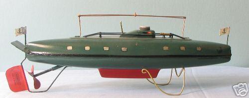 Märklin U-Boot mit Uhrwerk