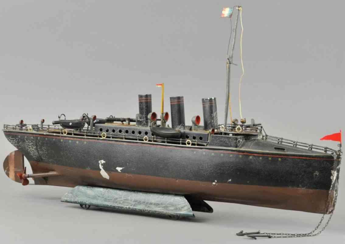 maerklin blech spielzeug torpedoboot dampfbetrieben