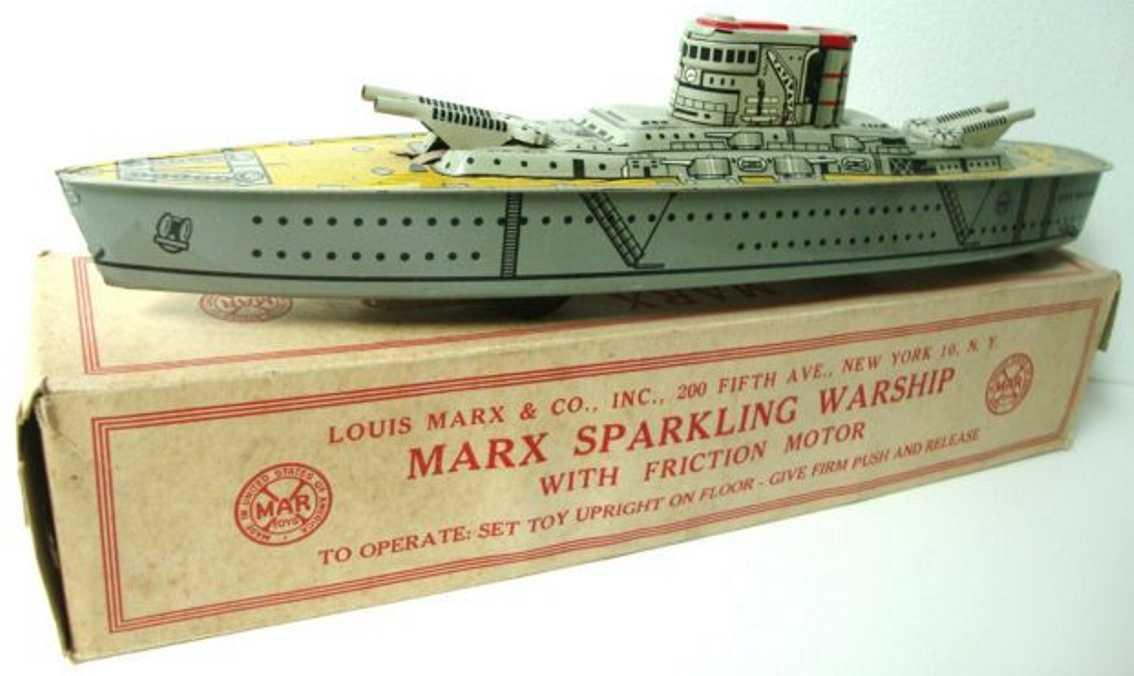 Marx Louis C Co. Kiregsschiff USS Washington