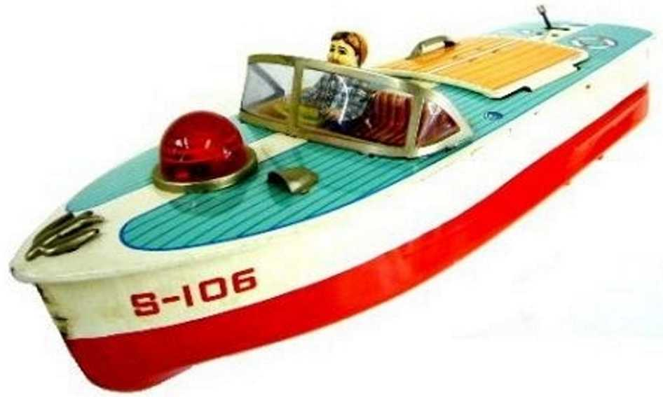 Masudaya Schnellboot