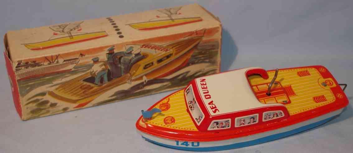 niedermeier philipp 140 tin toy motorboat flywheel drive