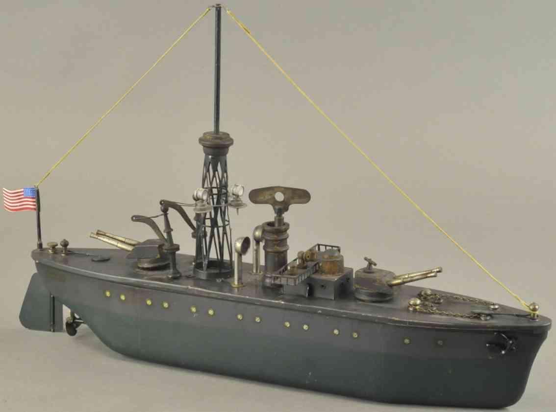 orkin spielzeug kriegsschiff marcella stahl holz
