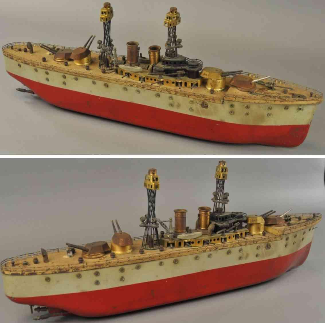 orkin tin toy battleship